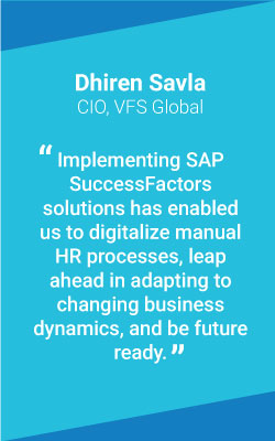 Simplifying Global HR Processes with SAP® SuccessFactors® Solutions