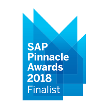 SAP Pinnacle Awards Finalist - 2018